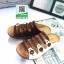 รองเท้าสไตล์เพือสุขภาพ คาดสีสลับ 5815-BROWN [สีน้ำตาล] thumbnail 3