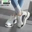 รองเท้าผ้าใบ เสริมส้นหนา G-1364-BLKWHI [สีดำ/ขาว] thumbnail 2