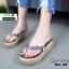 รองเท้าลำลองเตารีด เสริมส้น คีบ B22-190-GRY [สีเทา] thumbnail 1