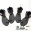รองเท้าแตะสวมโป้ง ข้อโซ่ทอง DD-39-เงิน [สีเงิน] thumbnail 4