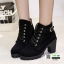 รองเท้าบูทส้นสูงนำเข้า JIH-888-BLK [สีดำ] thumbnail 2