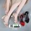 รองเท้าส้นสูง สไตล์เกาหลี 18-1405-CREAM [สีครีม] thumbnail 2