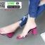 รองเท้าลำลอง สไตล์ maxi RU45-PNK [สีชมพู] thumbnail 2