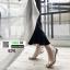 รองเท้าส้นสูงนำเข้า Crystal high-heeled shoes 0291-SILVER [สีเงิน] thumbnail 2