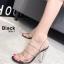 รองเท้าส้นแก้ว งานใหม่ล่าสุด 816-1-BLK [สีดำ] thumbnail 2