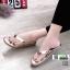รองเท้าหูคีบพื้นเตี้ย งานสุขภาพ บุนวม 2300-ทอง [สีทอง] thumbnail 1