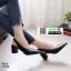 รองเท้าส้นสูง หน้าเรียว ทรงแมกซี่เก๋ 10168-ดำ [สีดำ] thumbnail 2