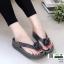 รองเท้าสุขภาพสไตล์ฟิทฟลอบ แต่งดอกคามิเลีย 119-เทา [สีเทา] thumbnail 1