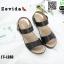 รองเท้าสไตล์สวมรัดส้น 18-1282-BLK [สีดำ] thumbnail 2