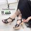 รองเท้าส้นสูง สไตล์แบรนเนม สวยเกร๋ 3006-35-BLACK [สีดำ ] thumbnail 1