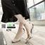 รองเท้าส้นสูงนำเข้า Crystal high-heeled shoes 0291-SILVER [สีเงิน] thumbnail 5
