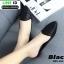 รองเท้าลำลองเปิดส้น ทรงหัวแหลม B55-354-BLK [สีดำ] thumbnail 1