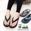 รองเท้าแตะพื้นสุขภาพ สไตล์ ฟิทฟล๊อป YT122-ดำ [สีดำ] thumbnail 2