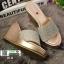 รองเท้าส้นเตารีด สไตล์แบรนดัง RU40-PINK [สีชมพู] thumbnail 4