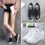 รองเท้าสวมส้นสูงหนัง pu AY077-WHI [สีขาว] thumbnail 3