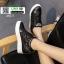 รองเท้าสวมส้นสูงหนัง pu AY077-BLK [สีดำ] thumbnail 3