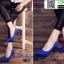 รองเท้าคัชชูหัวแหลม 983-BLU [สีน้ำเงิน] thumbnail 2