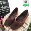 รองเท้าคัชชู สไตล์คาวาอี้ 9752-COFFEE [สีกาแฟ]