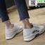 รองเท้าผ้าใบแฟชั่น สไตล์เกาหลี ผ้าตาข่ายนิ่ม C-1-WHI [สีขาว] thumbnail 4
