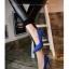 รองเท้าคัชชูหัวแหลม 983-BLU [สีน้ำเงิน] thumbnail 3