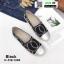 รองเท้าคัทชูส้นแบน chanel flats H-319-1284-BLK [สีดำ]