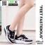 รองเท้าผ้าใบ แบบเสริมพื้นลายดอก W803-BLK [สีดำ] thumbnail 4