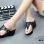 รองเท้าเตารีดเปิดส้นสีดำ หูคีบ (สีดำ ) thumbnail 3