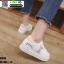 รองเท้าผ้าใบ นำเข้า100% ST525-PNK [สีชมพู] thumbnail 3