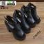 รองเท้าคัชชูขัดข้อเปิดหน้าส้นแท่ง งานนำเข้า100% ST989-BLK [สีดำ] thumbnail 4