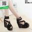รองเท้าหุ้มส้นทรงเตารีด ST17-BLK [สีดำ] thumbnail 3