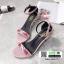 รองเท้าส้นสูงดีเทลน่ารัก 3660-73-PINK [สีชมพู] thumbnail 3