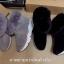 รองเท้าบูทเกาหลีสีดำ หนังวัวนิ่ม บุขน (สีดำ ) thumbnail 4