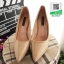 รองเท้าคัชชูส้นสูง หัวแหลม XG11-147-CREAM [สีครีม] thumbnail 3