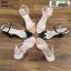 รองเท้าส้นแท่งหุ้มข้อเปิดส้น 1812-5-BLK [สีดำ] thumbnail 4