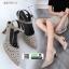 รองเท้าส้นสูงเปิดส้น รัดข้อ B3715-11-GLD [สีทอง] thumbnail 2