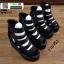 รองเท้าหุ้มส้นทรงเตารีด ST1005-BLK [สีดำ] thumbnail 5