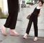 รองเท้าแบบสวมส้นเตารีด ST2012-PNK [สีPNK]