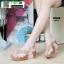 รองเท้าเพื่อสุขภาพ พียู หนีบ PU6130-PNK [สีชมพู] thumbnail 1