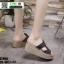 รองเท้าสวมส้นเตารีด ST998-BLK [สีดำ] thumbnail 3