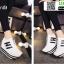 รองเท้าผ้าใบเสริมส้น ST8029-WHI [สีขาว] thumbnail 4