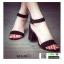 รองเท้าลำลองรัดส้น กำมะหยี่นิ่ม G12-19-BLK [สีดำ] thumbnail 5