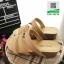 รองเท้าส้นเตารีด สไตล์เพื่อสุขภาพ 961-59-CRE [สีครีม] thumbnail 4