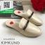 รองเท้าแตะส้นเตี้ยสีครีม slipper (สีครีม ) thumbnail 2