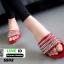 รองเท้าแตะ สไตล์ Givenchy SS02-RED [สีแดง] thumbnail 3