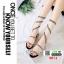 รองเท้าส้นสูงแกลดดิเอเตอร์ 0074-BLACK [สีดำ] thumbnail 2