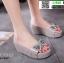 รองเท้าลำลองส้นเตารีด 18-1357-GRY [สีเทา]