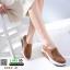 รองเท้าผ้าใบ งานใหม่ล่าสุด feragamo 9392-41-BWN [สีน้ำตาล] thumbnail 1
