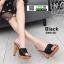 รองเท้าส้นสูงเสริมหน้า 3006-50-BLK [สีดำ] thumbnail 2