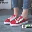 รองเท้าผ้าใบแฟชั่นเปิดท้าย ST509-RED [สีแดง] thumbnail 1