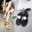 รองเท้าแตะส้นแบน jelly sandals TIT01-BLK [สีดำ] thumbnail 1